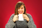 Adults try coffee for the first time