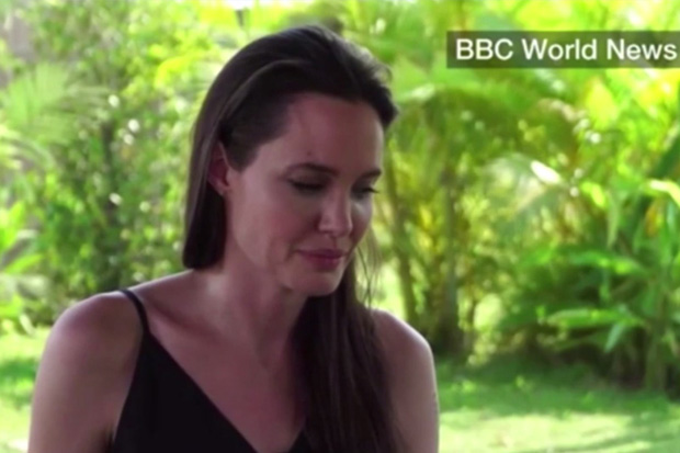 Angelina Jolie opens up about her divorce from Brad Pitt
