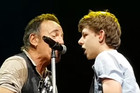 Teen ditches school to see Bruce Springsteen and ends up singing with him live on stage!