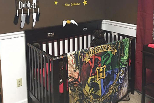 This baby's Harry Potter themed nursery puts every other nurseys parent to shame