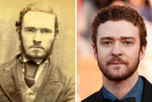 10 Unbelievable celebrity lookalikes from completely different generations