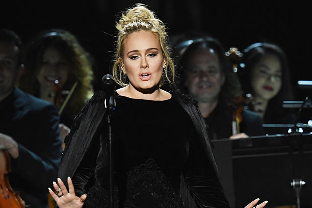 Adele swears on live TV during George Michael tribute at the Grammys 2017